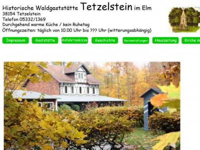 Tetzelstein, Regionaler Treffpunkt